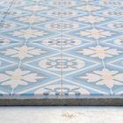 printtegel Designo Mosaic blauw