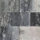 strakke klinkers puras 20 x 30 cm grijs/ zwart