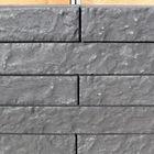 linia rockface Felsenmotiv 10 x 15 x 60 cm Anthrazit