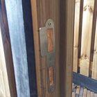 deurkozijn hout met aanslag