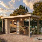 Gartenhaus Schwandorf Karibu mit Überdachung