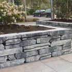 stone walling grijs zwart