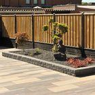 soft comfort betontegel 40 x 80 x 4 cm giallo