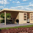 Tuinhuis Askola 2 Karibu met verspringend dak