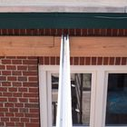 voorberubberde tussendrager tussenprofiel polycarbonaat dak
