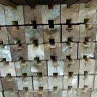 Gleufpaal geimpregneerd hout 88x88 300 cm