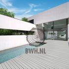 WPC composiet terrasdelen grijs