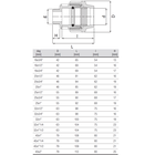 unidelta-koppeling-buitendraad-16-40