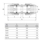 unidelta-rechte-koppeling-tekening-50-110