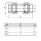 unidelta-reparatie-koppeling-tekening-25-40