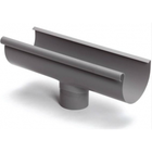 S-lon grijs PVC gootuitloop lijm