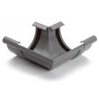 S-lon PVC buitenhoekstuk klem grijs