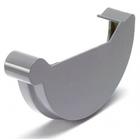S-lon grijs PVC eindstuk klem rechts