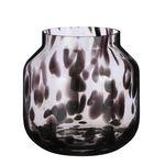 Pantera vaas glas bruin - h26,5xd26cm