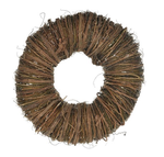 Twig wreath 30x10cm Natural