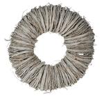 Twig wreath 30x10cm White-wash