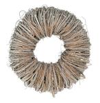 Twig wreath 20x7cm White-wash