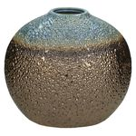 Vase Fine Earthenware Bronze 33.5x19.5x27cm