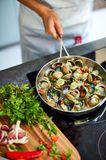 MasterChef Tri-Ply Frying Pan 20 cm Beauty 3