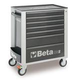 Beta gereedschapswagen met 7 laden - grijs 1