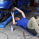 Opvouwbare garage ligmat
