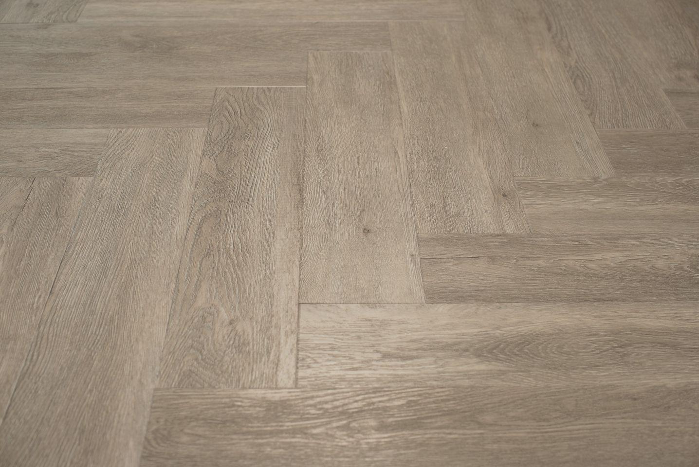 Floer visgraat pvc vloeren grijsbeige eiken cm wit vloer