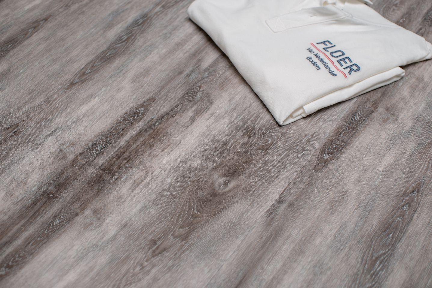 Vinyl Vloer Coupons : Floer dorpen pvc gastel grauw eiken grijze vinyl plank vloer