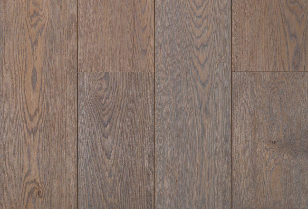 Eiken lamelparket geborsteld grijs geolied houten vloer parket