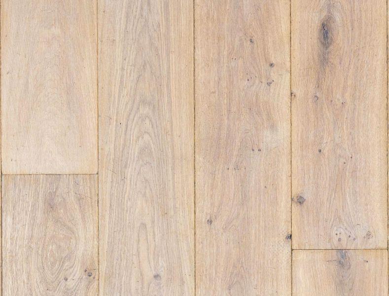 Eiken lamel parket verouderd wit geolied hout vloer duoplank