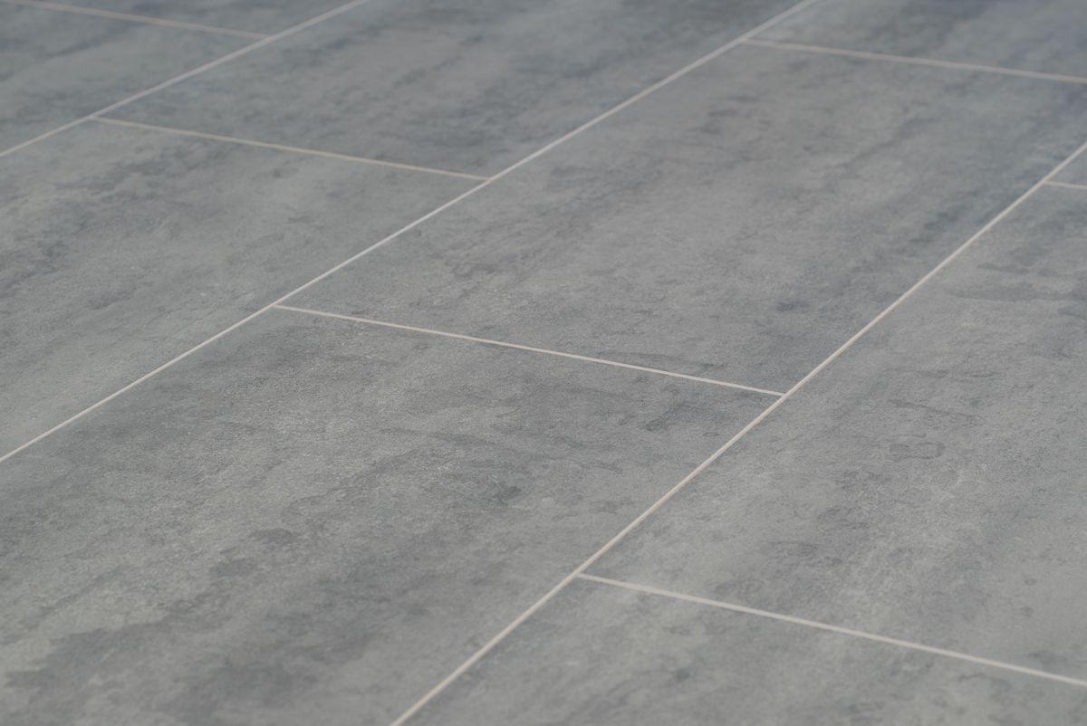 Floer laminaat tegel leisteen grijs stenen vloer beton look