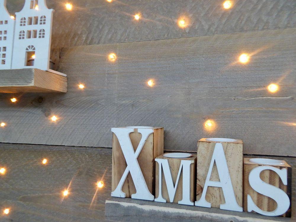 verlichting led kerstboom