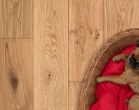 Eiken parket vloer duoplank lamelparket wit rustiek hout vloeren