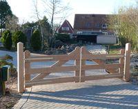 Hekwerk Hout Tuin : Houten hekken kopen tuinhek afrastering en ronde palen