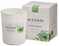 Bolsius geurkaars in glas Accents Garden Dreams 100/80 mm