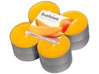 Bolsius maxi geurlichten Aromatic Exotic Mango - 8 stuks