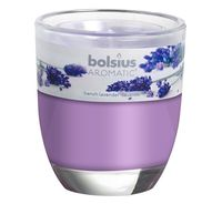 Bolsius geurkaars in glas Aromatic French Lavender 120/100 mm