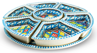 Dishes_Deco_Tapasschaal_Turquoise_Blue_8_Delig