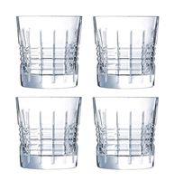 Cristal d'Arques whiskyglazen Rendez-Vous 32 cl - 4 stuks