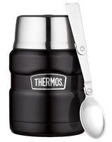 Thermos Voedseldrager King Zwart Mat