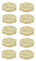 Bolsius geurchips Creations Vanilla Cream - 10 stuks