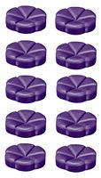 Bolsius geurchips Creations Blueberry - 10 stuks