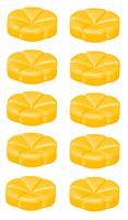 Bolsius geurchips Creations Exotic Mango - 10 stuks