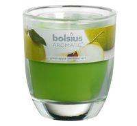 Bolsius geurkaars in glas Aromatic Green Apple 120/100 mm