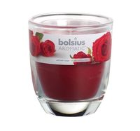 Bolsius geurkaars in glas Aromatic Velvet Rose 80/70 mm