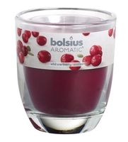 Bolsius geurkaars in glas Aromatic Wild Cranberry 120/100 mm