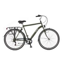Popal City 28 inch Army Green 6 Versnellingen