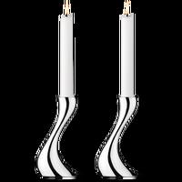 Georg Jensen Cobra kandelaar 16cm - set van 2