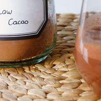 Raw cacao smoothie