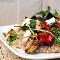 Spelt couscous met gegrilde groenten