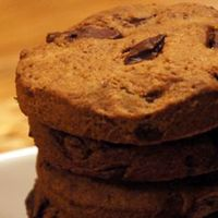 Tarwevrije chocolate chip cookies
